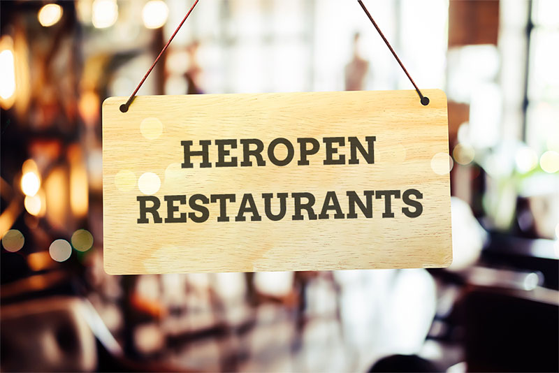 Heropen de restaurants