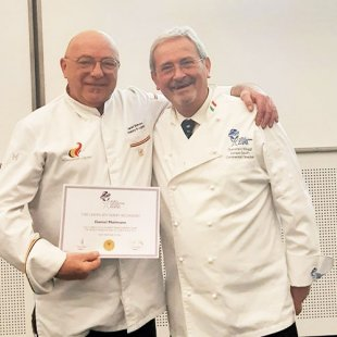 Daniel Molmans officieel 'rechter' World Association of Chefs Societies