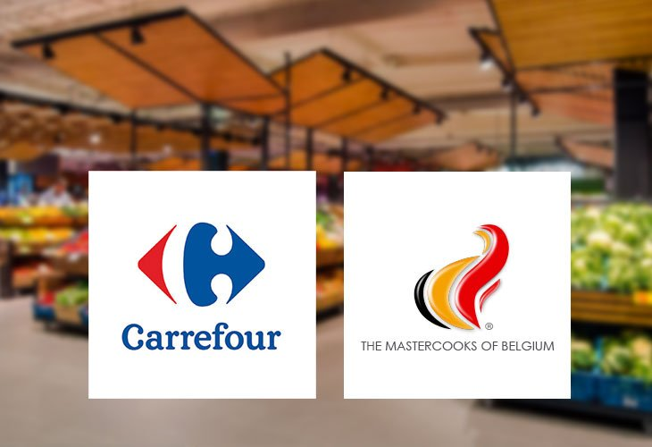 Carrefour en The Mastercooks of Belgium