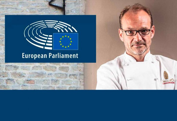 Roland Debuyst in het Europees Parlement