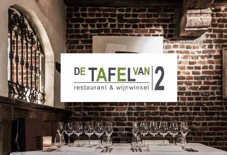 Tafel van 2 take away menu